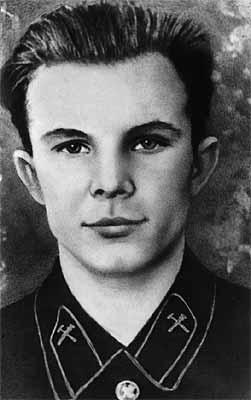 Гагарин студент саратовского